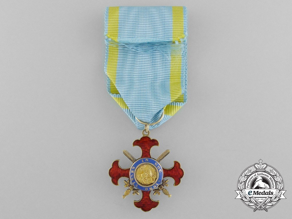 Royal+military+order+of+st.+george+of+the+reunion%2c+knight%27s+cross+of+grace+1