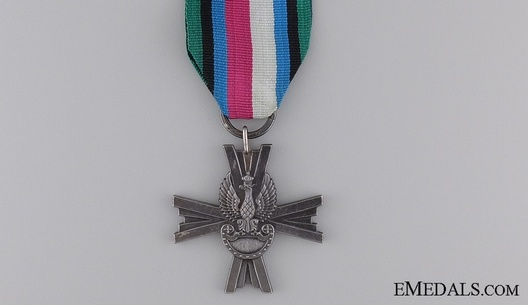 Cross for Polish Armed Forces in the West Obverse