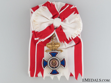 Order of Danilo I (Merit for the Independence), Type IV, I Class, Grand Cross Obverse