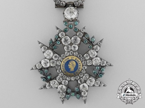 Order of the Legion of Honour, Type I, Knight (with surmounted crown) (1808-1813)