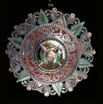 Supreme Order of the Renaissance  (Wisam Al Ordani Al Nahda), I Class Grand Cordon Breast Star