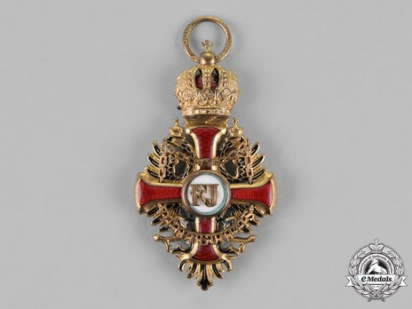 Order of Franz Joseph, Type II, Knight Cross
