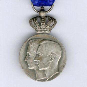 """Silver Medal (stamped """"'E. GOERGEN P."""" """"O. DE CLERCK.S."""") Obverse"""