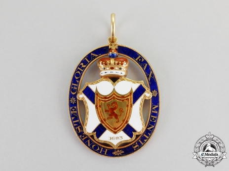 Gold Medal (for Baronets of Nova Scotia) Reverse