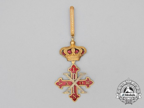 Constantinian Order of St. George, Knight Commander (Jure Sanguinis) Obverse