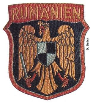 German Army Romania Sleeve Insignia (2nd version) Obverse