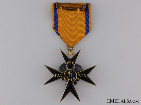 Order of the Eagle Cross, V Class Cross reverse