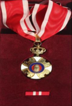 Order of the Karadjordje Republic, II Class Obverse