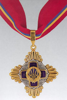 Order of Merit, Civil Division, I Class Badge Obverse