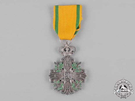 Service Cross for Military Personnel, II Class Cross (for Officers, for 15 Years)