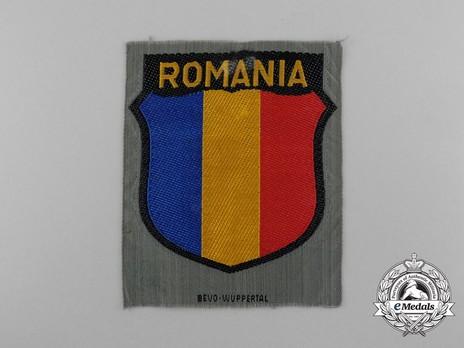 German Army Romania Sleeve Insignia (1st version) Obverse