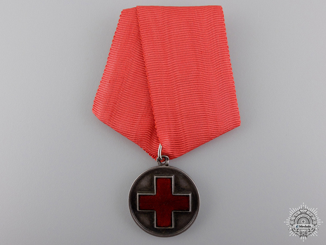 Russo-Japanese War Red Cross Medal Obverse