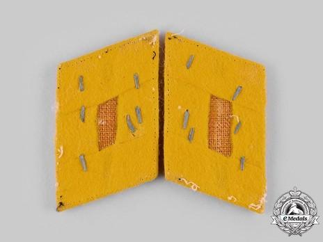 Luftwaffe Flying Troops Obergefreiter Collar Tabs Reverse