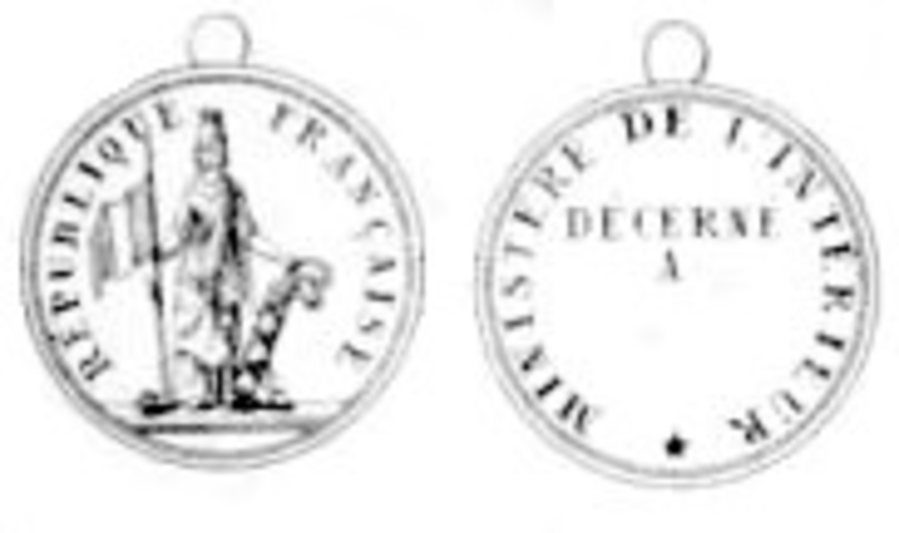 Merit medal 1848