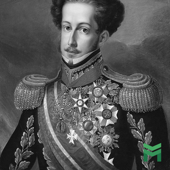Pedro I, First Emperor of Brazil wearing the Order of the Southern Cross