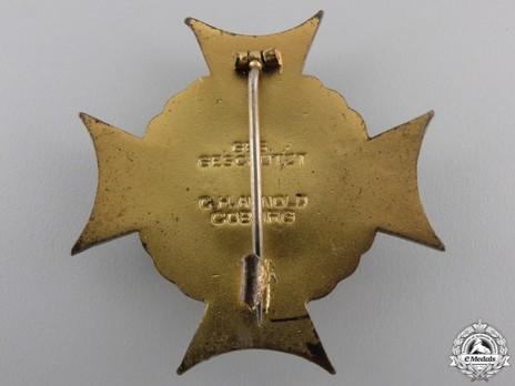 Mackensen Honour Cross, I Class Reverse
