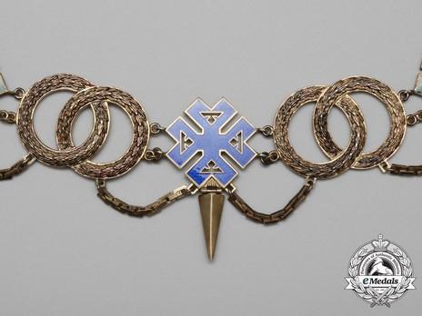 Order of Ferdinand I, Collar Obverse Detail
