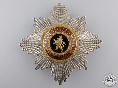 Order of Leopold, Grand Cross Breast Star (Civil Division, 1951-) Obverse