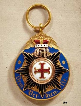 Order of Merit, II Class Medal (in gold, 1871-1890)