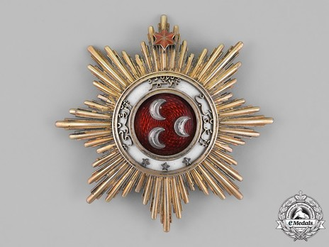 Order of the Crown of Johor, Knight Grand Commander Breast Star Obverse