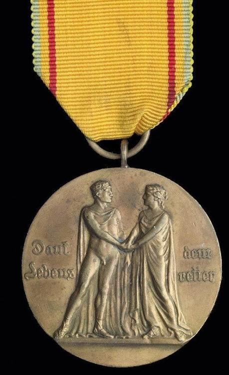 Mecklenburg strelitz+life+saving+medal%2c+in+silver+1