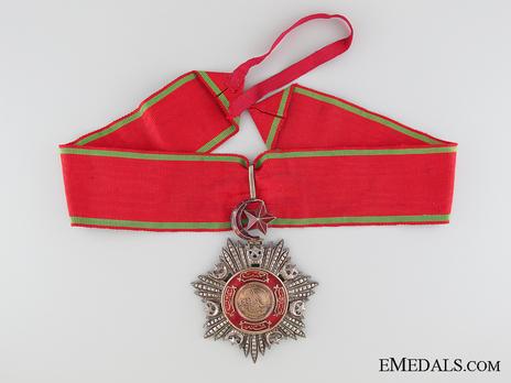 Order of Medjidjie, Civil Division, III Class Obverse