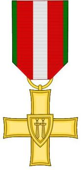 Order of the Cross of Grunwald, I Class Obverse