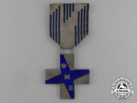 Cross of Merit for Opera Nazionale Balilla (Young Italians), for Boys Obverse