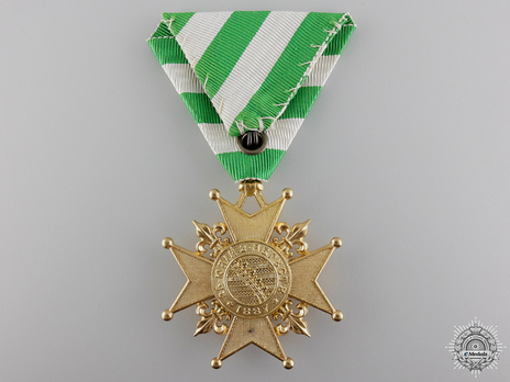 Cross for the Election of Prince Ferdinand I, II Class Reverse