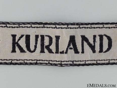 Luftwaffe Kurland Cuff Title Obverse