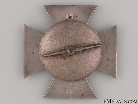 Iron Cross I Class, by Steinhauer & Lück (L/16, screwback) Reverse