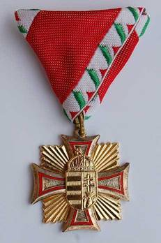 Enlisted Men Service Decoration, I Class (for 15 Years) Obverse