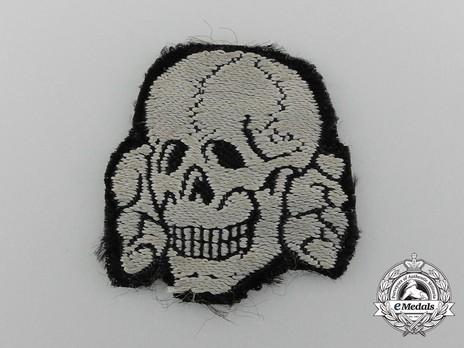 Waffen-SS NCO/EM's Cloth Cap Death's Head Obverse