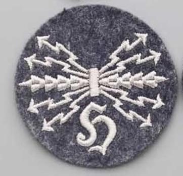 Luftwaffe Sound Locator Operator Personnel Insignia Obverse