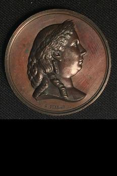 """Bronze Medal (stamped """"G. SELLAN"""")"""