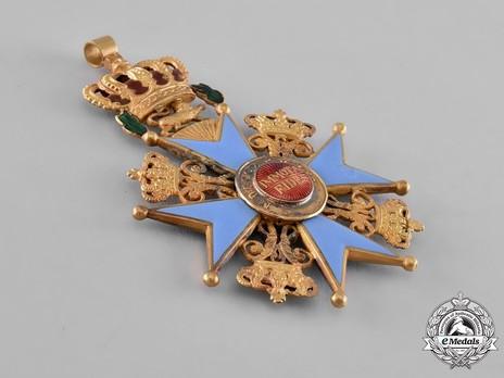 Dukely Order of Henry the Lion, Grand Cross (in gold) Reverse