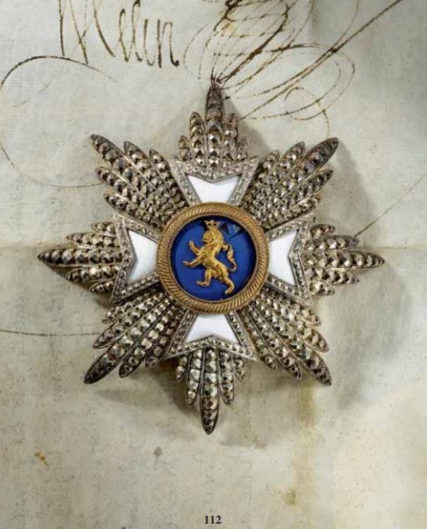 Wilhelm+order%2c+grand+cross+breast+star%2c+silver%2c+andreas+thies+