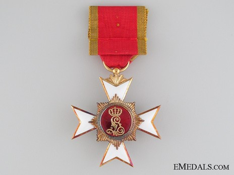 III Class Cross (in silver gilt) Reverse