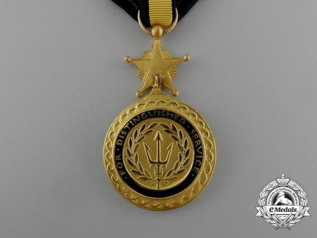 Navy Distinguished Service Medal (1919-) Reverse
