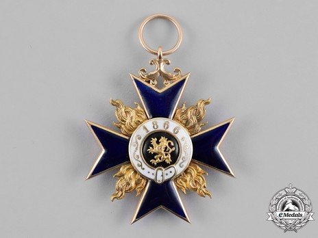 Order of Military Merit, III Class Cross Reverse