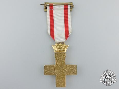 1st Class Cross (white distinction) Reverse