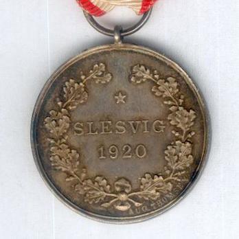 "Silver Medal (obverse stamped ""LINDAHL"" reverse stamped ""AUG. THOMSEN"") Reverse"