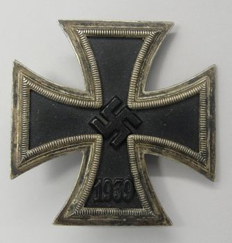 Iron Cross I Class, by P. Meybauer (unmarked) Obverse