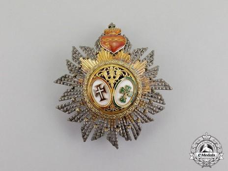 Grand Cross Breast Star (1918-1962) Obverse