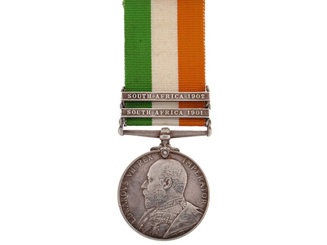 King's South Africa Medal (No clasp) Obverse