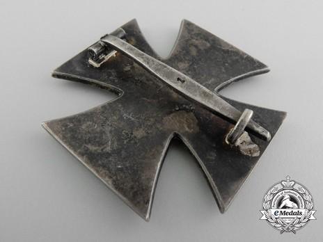 Iron Cross I Class, by Deschler (1) Reverse