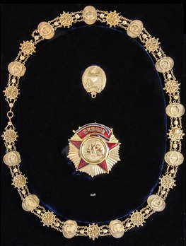Order of Freedom and Independence, Collar