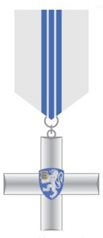 Police Service Cross, II Class (for 20 Years) Obverse