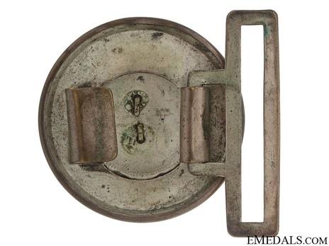 HJ Officer Lower Leader Belt Buckle Type I Reverse