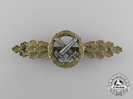Air-to-Ground Support Clasp, in Gold Obverse